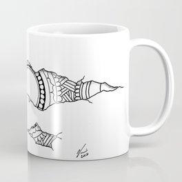 Ripped Mandala Coffee Mug