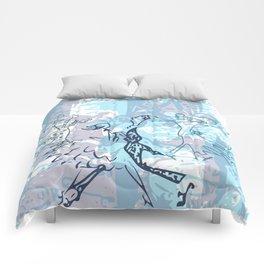 Dancing 1 Comforters