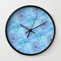 biology Wall Clocks featuring Marine Biology by Antique Images
