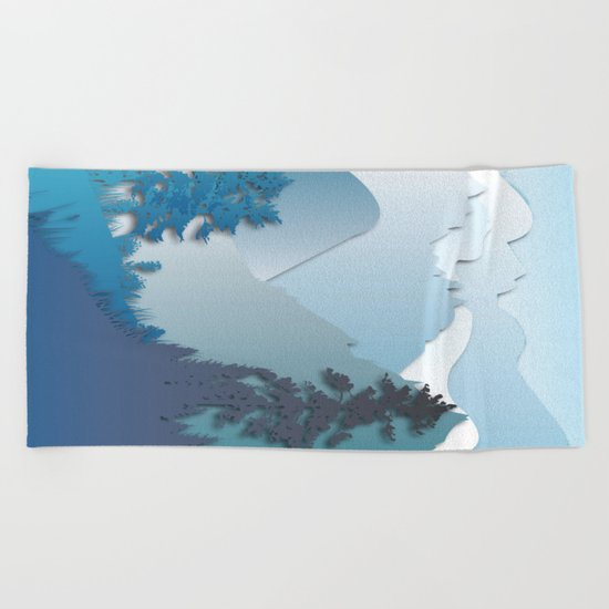 My Nature Collection No. 41 Beach Towel