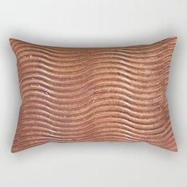 Copper wave Rectangular Pillow