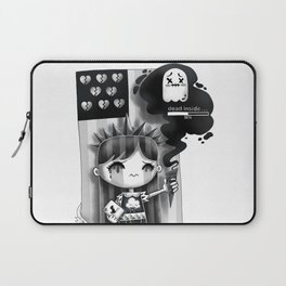 Lady Misery Laptop Sleeve
