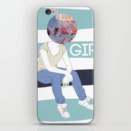EI GIRL! iPhone Skin