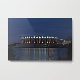 Hampton Coliseum II Metal Print