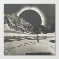 interstellar Canvas Prints featuring Interstellar by Douglas Hale