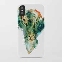 wildlife iPhone & iPod Cases featuring African Wildlife by RIZA PEKER