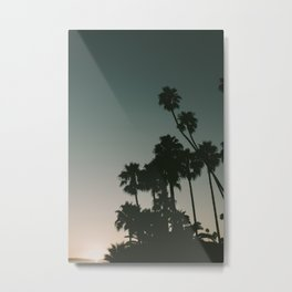 CALIFORINA DUSK Metal Print