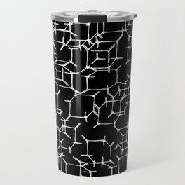 Cube Skeletons In Space Travel Mug