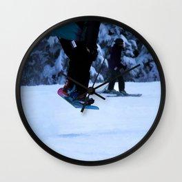 Snowboarder Wall Clock