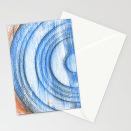 vinyl scratches Stationery Cards