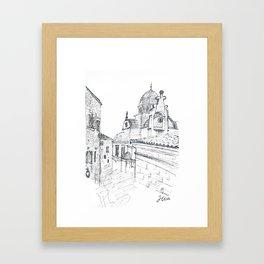 Cathedral of St. James in Sibenik Framed Art Print