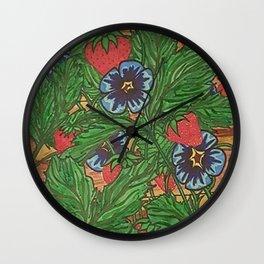 MEMORIES PLANTED Wall Clock