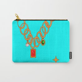 Jewels, gems of ruby, pearl and emerald Carry-All Pouch
