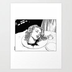 asc 276 - La mort douce (The sweet death) Art Print