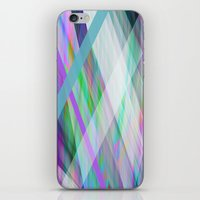 rave iPhone & iPod Skins featuring Crystal Rave by GS Designs