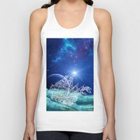 neverland Tank Tops featuring To Neverland by Cat Milchard