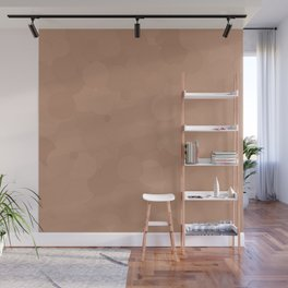 Cafe au Lait Bubble Dot Color Accent Wall Mural