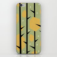 yetiland iPhone & iPod Skins featuring Yeti Dreams by Yetiland