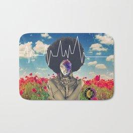 Afro Heartbeat Bath Mat