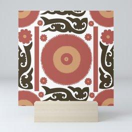 Classic Suzani Mini Art Print