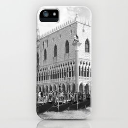 View of Venice St. Mark's Square iPhone Case