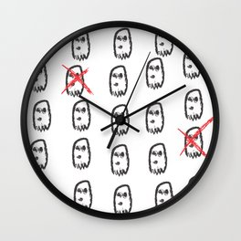 Ex-Ghosts Wall Clock