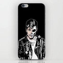 Alex Turner Skull Art by zombieCraig iPhone Skin