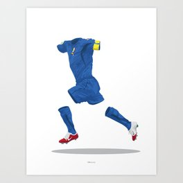 Italy 2006 - World Cup Winners Art Print