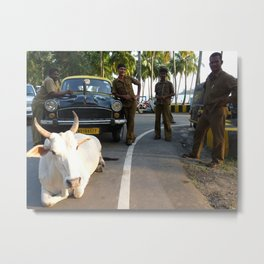 Andaman Island Traffic Metal Print