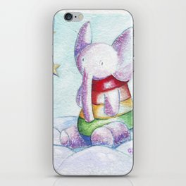 Sweet elephant iPhone Skin