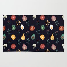 Vegetables pattern Rug