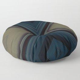 Blue Sarcophagus Floor Pillow