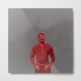 Anthony Mackie  Metal Print