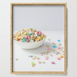 Bowl of Lucky Charms Serving Tray