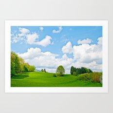 Wonderful spring Art Print