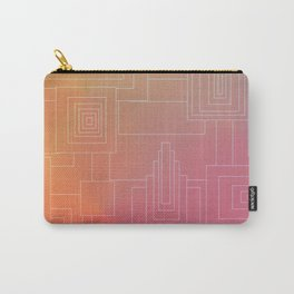 Art Deco sunset Carry-All Pouch