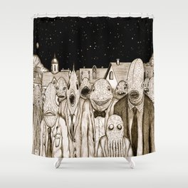 Innsmouth Meeting Shower Curtain
