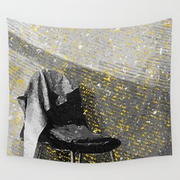 Gray Chair Wall Tapestry