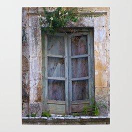 """Baroque Town Noto """"Vacancy"""" zine Poster"""