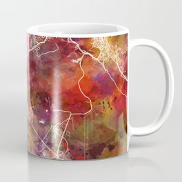 Muscat map Coffee Mug