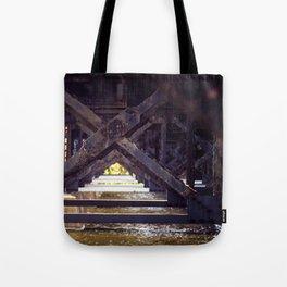Rusty Bridge Tote Bag