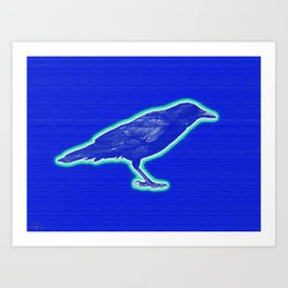 bluebird (of happiness) Art Print