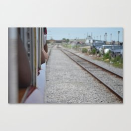 Along the Mississippi Canvas Print