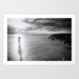 Back To the Ocean Art Print