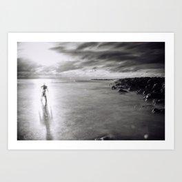 Back To the Ocean Art Print
