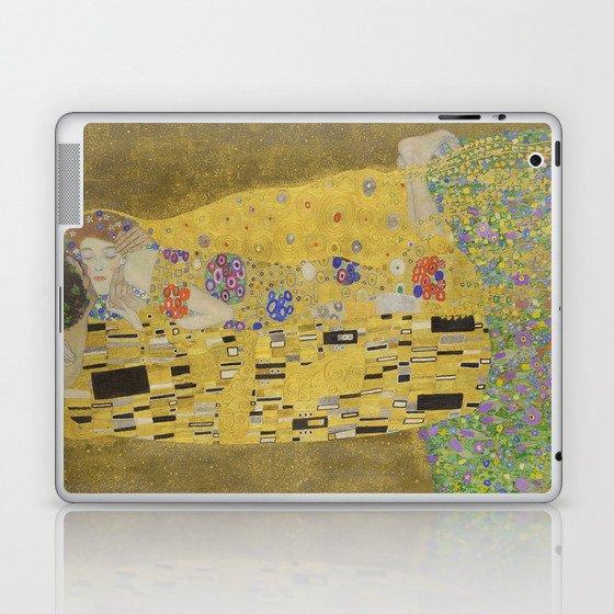 The Kiss - Gustav Klimt Laptop & iPad Skin by constantchaos   Society6