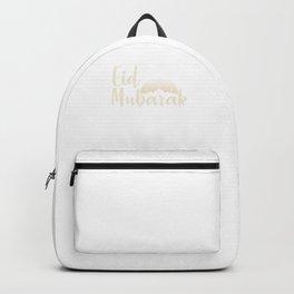 Muslim Allah Imam Happy Festival Mecca Gift Islam Eid Mubarak Backpack