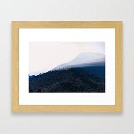 Nepal Series | Sunrise on the Path to Namche, Nepal Framed Art Print