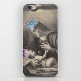 Religion. Mary & Child iPhone Skin