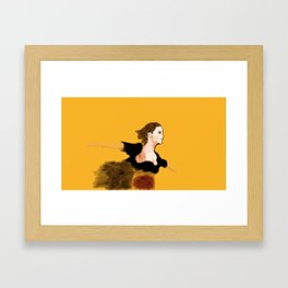 Emma Watson in The Perks Of Being A Wallflower Framed Art Print